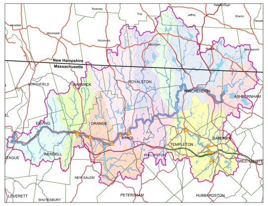 2011 Sampling Sites - Millers and Otter Rivers