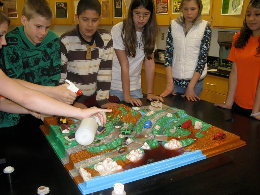 Enviroscape, Gardner Middle School by Ivan Ussach