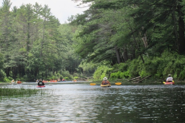 July 8 paddle - Millers R