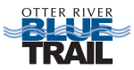 Logo for Otter River Blue Trail