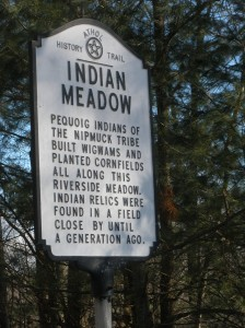 Indian Meadow Historical Marker