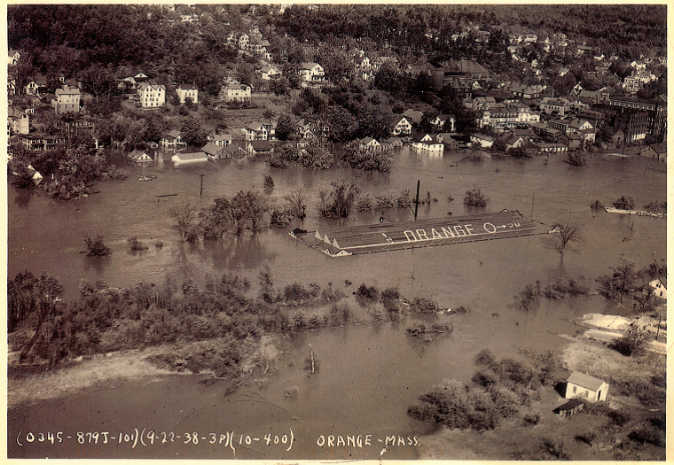 Millers River in the Flood of 1938