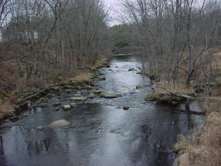 Otter River, Baldwinville by Ivan Ussach